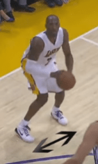 kobe shooting form stance