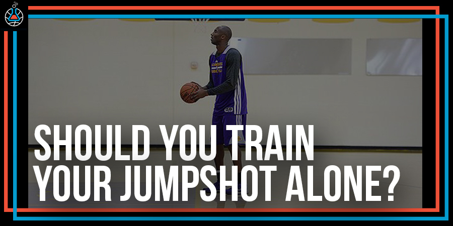 Should you train your jumpshot alone