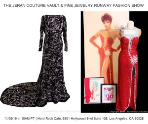"World Famous ""Hollywood Graffiti Gown"" Hits the Auction Block For The First Time Ever @ The Hard Rock Café Hollywood 