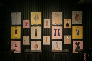 The Set Of Love, Loss And What I Wore At Oil Lamp Theater