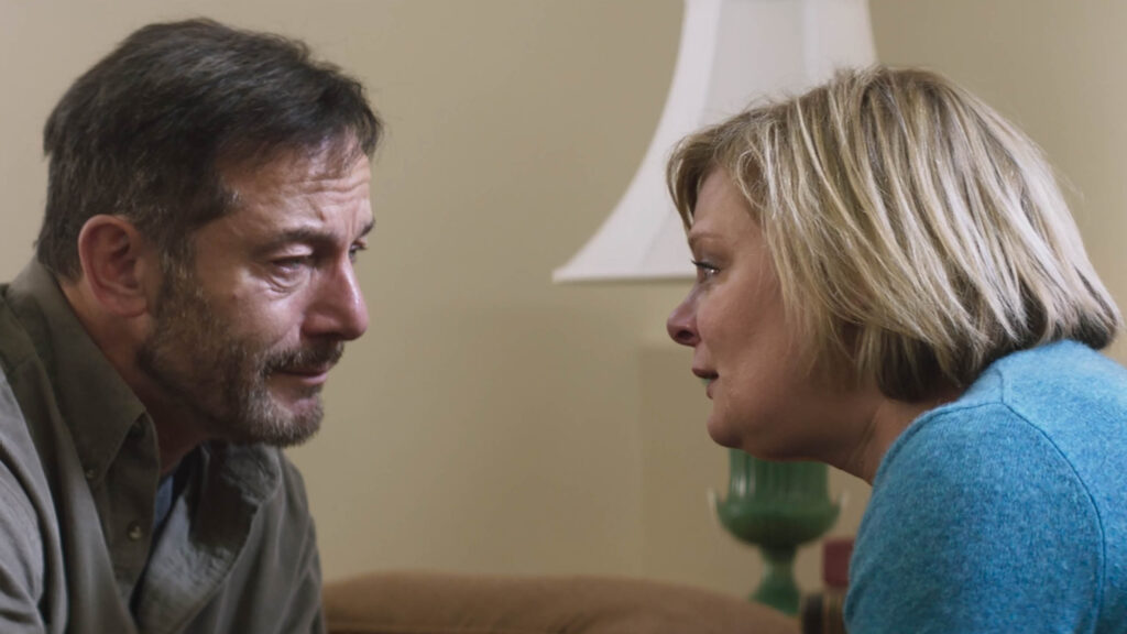 Jason Isaacs and Martha Plimpton in Mass premiering at Sundance Film Festival.
