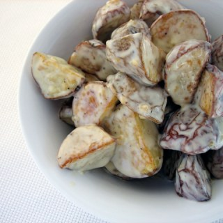 Winterizing summer favorites: Spanish roasted potato salad
