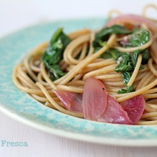 Cooking off the Cuff: A Makeshift Pasta Fresca