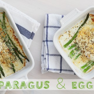 Rise of the Monday: Asparagus and egg bake