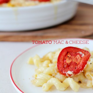 For diners big and small: Tomato mac & cheese