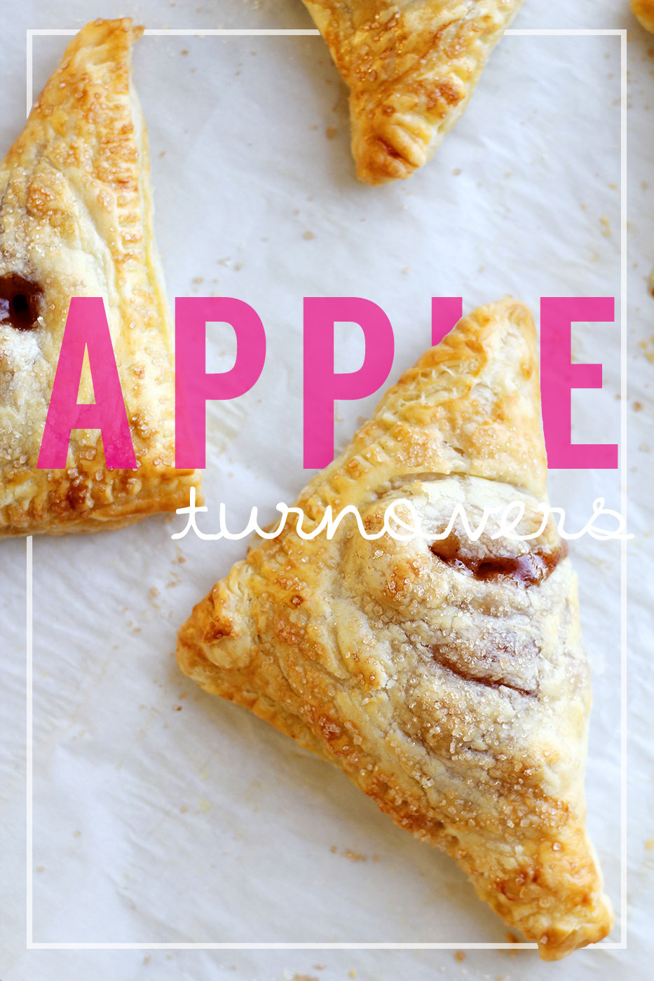 20-Minute Apple Turnovers | splashofsomething.com