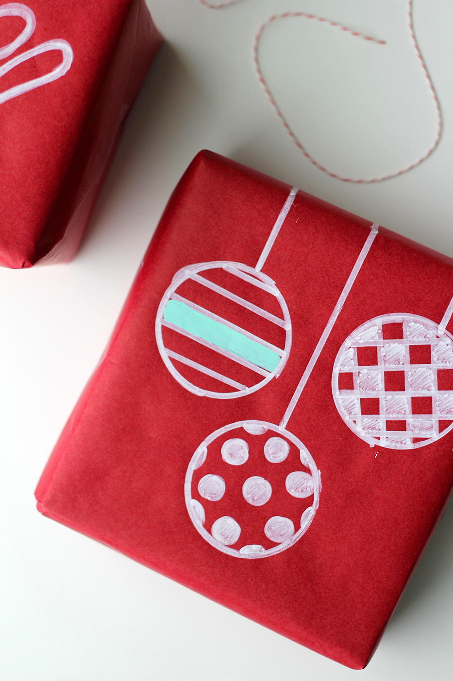 Chalk Marker Wrapping Paper