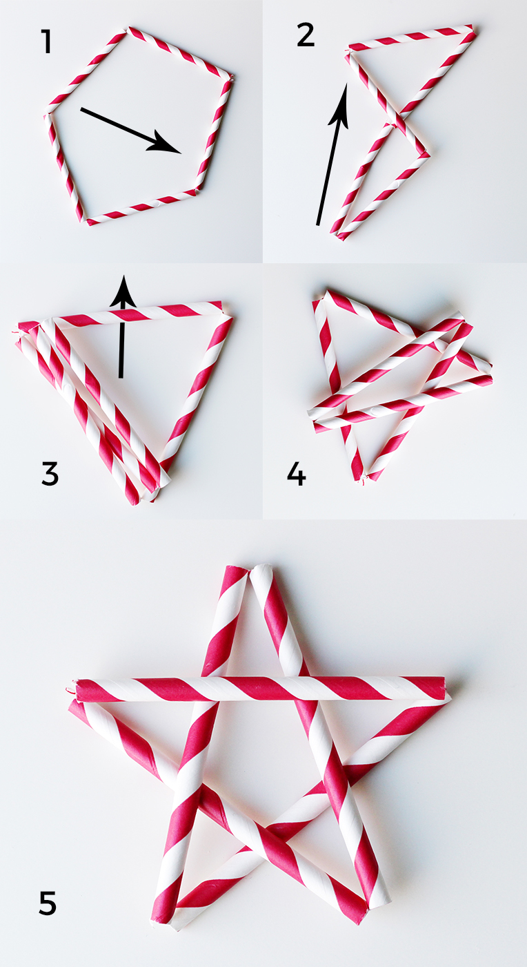 Straw Star Tutorial