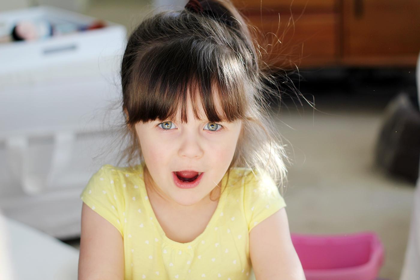 preschool girl face