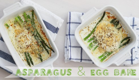 Asparagus Egg Bake-main