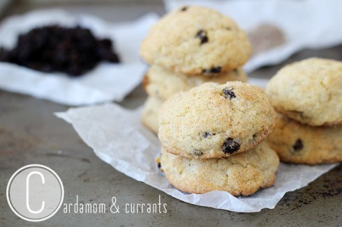 Cardamom Currant Snickerdoodles-open