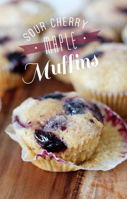 Cherry Maple Muffins