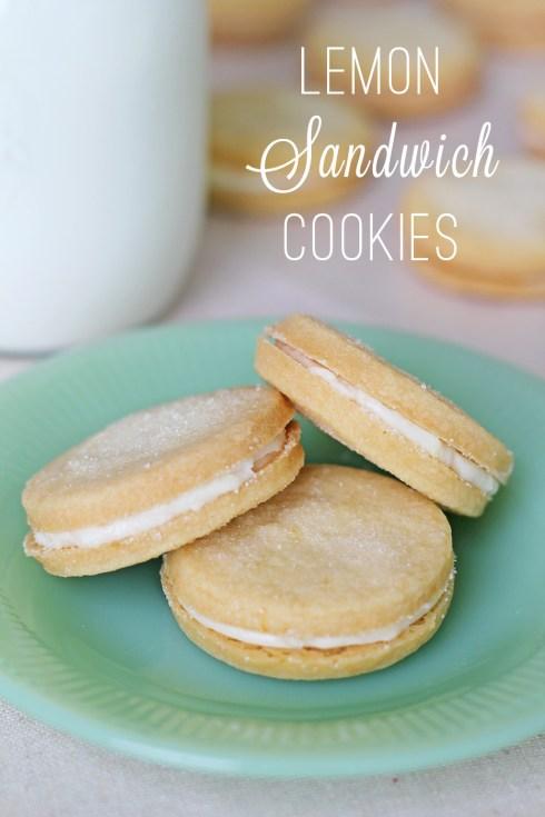 Lemon Sandwich Cookies 6