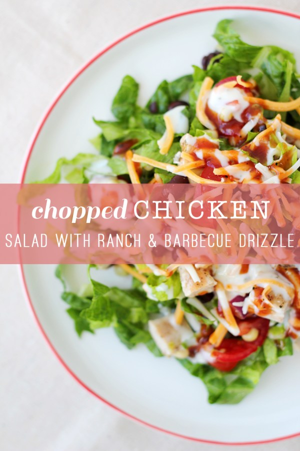 Chopped Chicken Salad 4-1