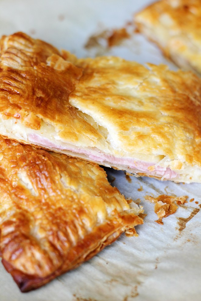 Ham and Gruyere Puff Pastry 2