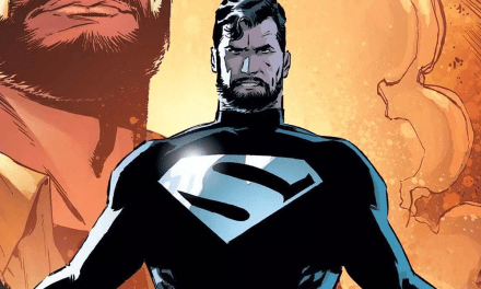 Possible New Look At Superman In Black Suit For JUSTICE LEAGUE
