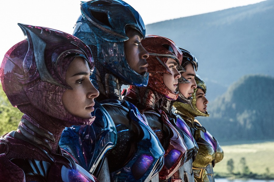 New POWER RANGERS Posters and International TV Spot