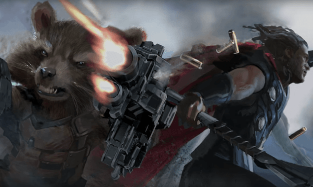 Here Is Your First Look At AVENGERS: INFINITY WAR!!