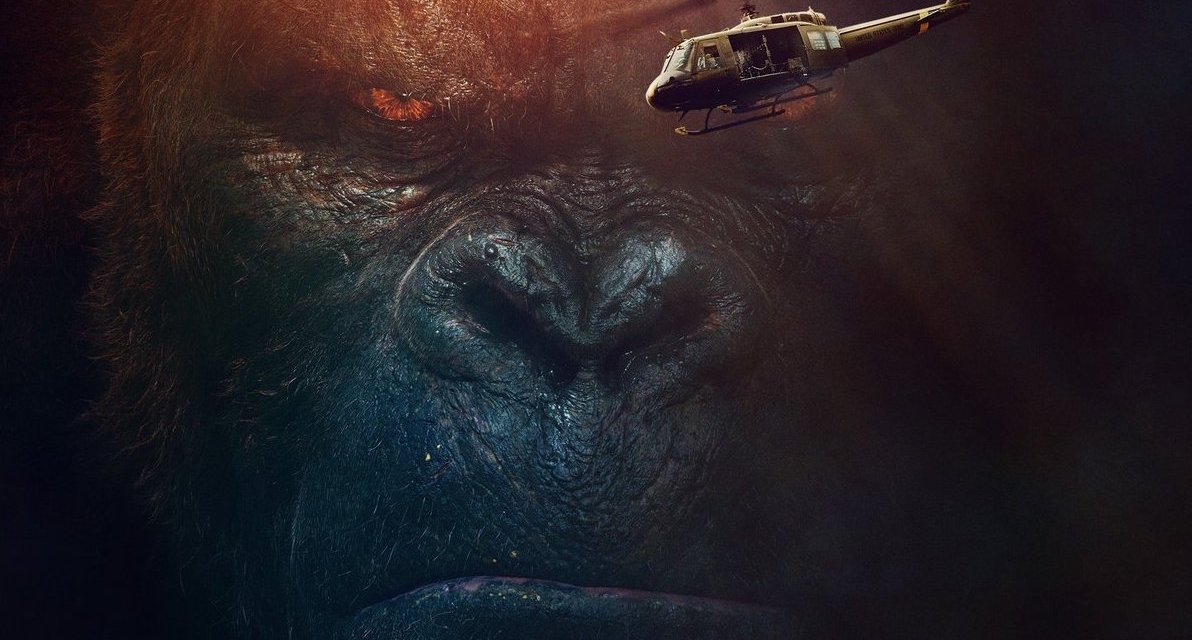 Kong Ready For Battle In New IMAX Poster For SKULL ISLAND