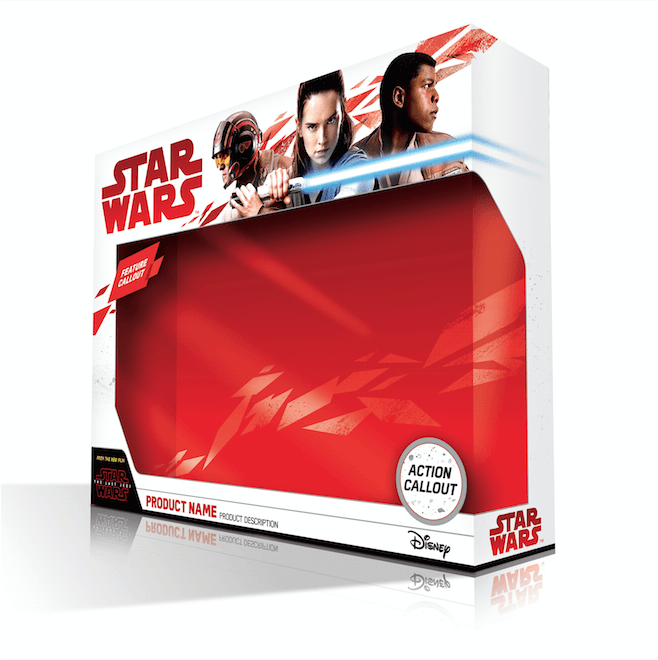 last jedi toy packing first order red