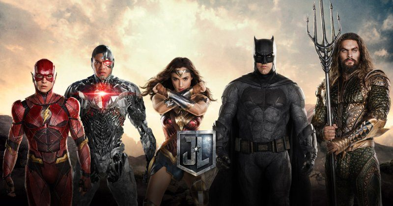 New Poster for JUSTICE LEAGUE Has The Team United