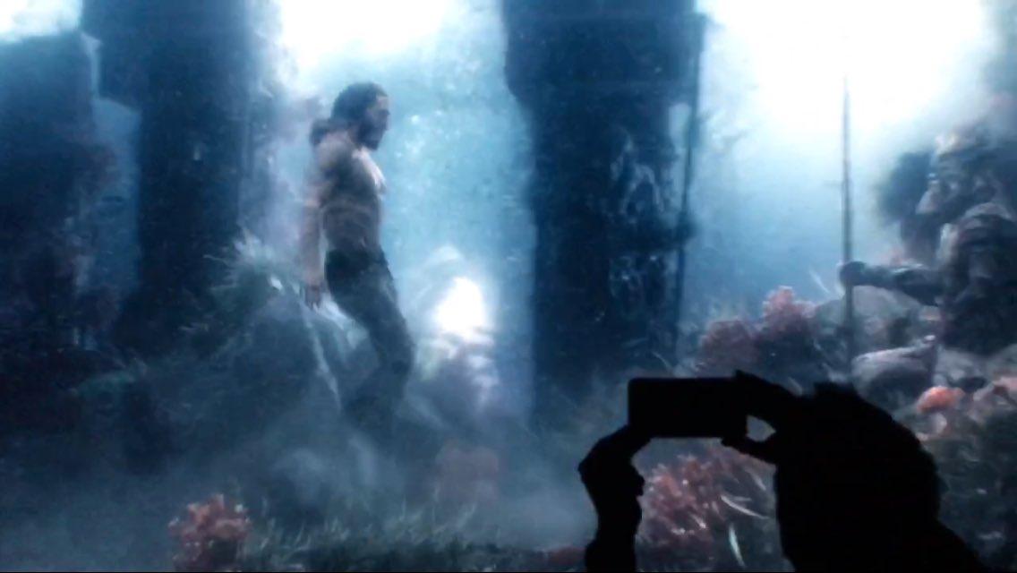 Justice League: Zack Snyder Reveals Aquaman Test Footage