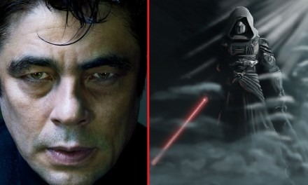 Who is Benicio del Toro playing in STAR WARS: THE LAST JEDI?