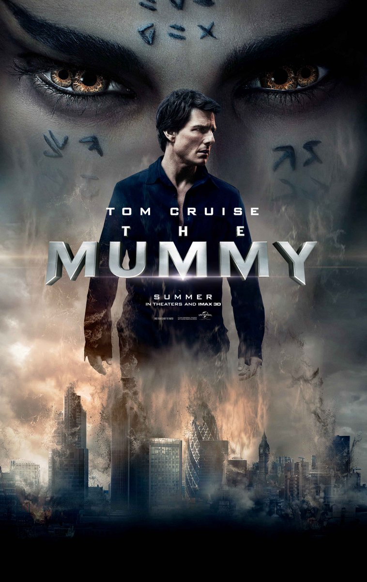 New Poster For The Mummy
