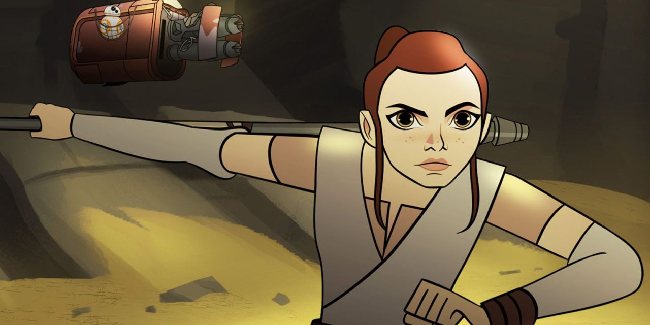 STAR WARS: FORCES OF DESTINY Will Focus On The Women Of Star Wars In New Animated Shorts