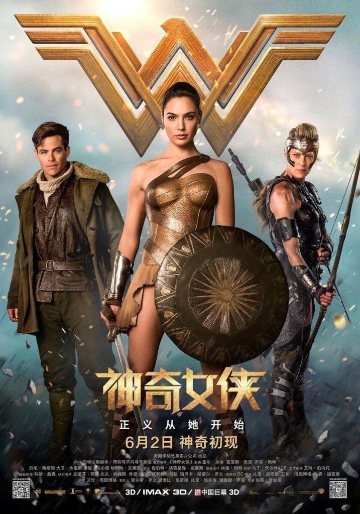 Intl Wonder Woman Poster