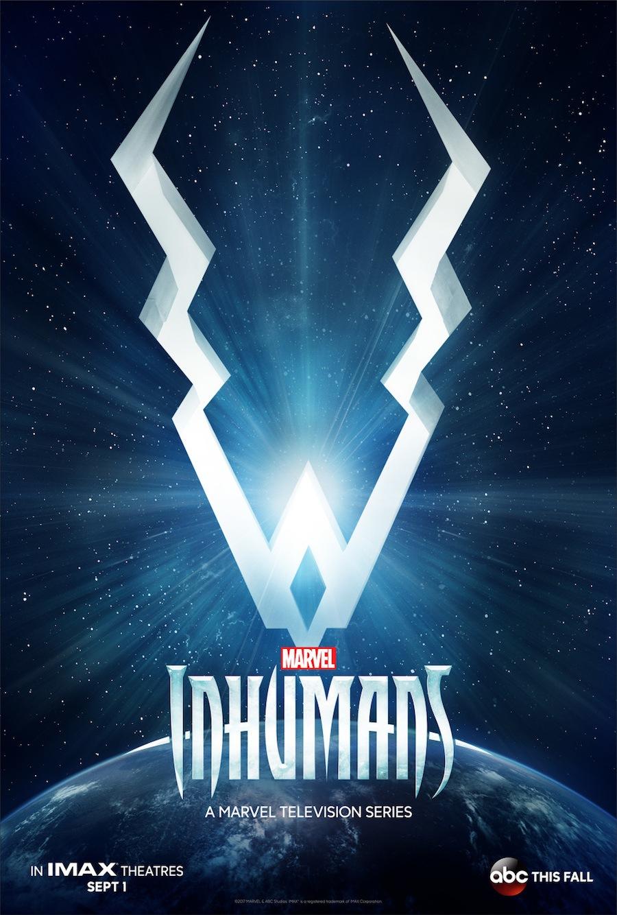 marvel's inhumans teaser poster
