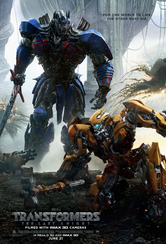 new transformers 5 poster features optimus prime bumblebee. Black Bedroom Furniture Sets. Home Design Ideas