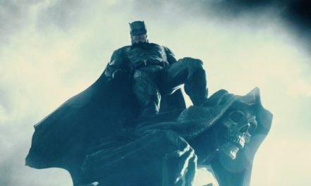 New JUSTICE LEAGUE Reshoot Photos Feature Creepy Monument