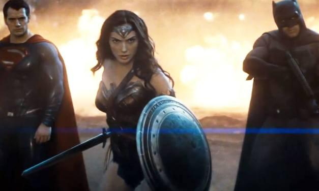 Zack Snyder Shares WONDER WOMAN Vision in BATMAN v SUPERMAN