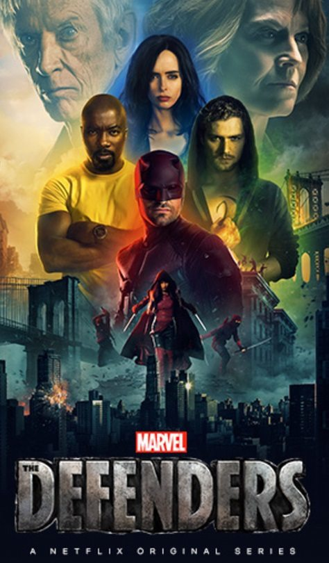 New Marvel's The Defenders poster