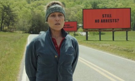 TIFF FILM REVIEW: THREE BILLBOARDS Is A Dark Humor Analysis of Our Lesser, and Our Better, Instincts