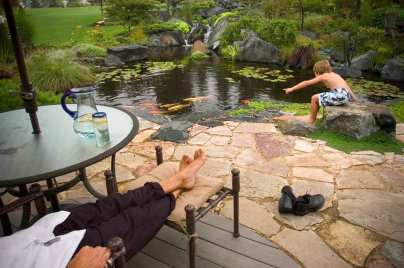 Keeping pond healthy in summer, high temperatures