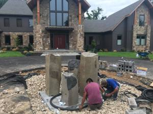 Professional Fountain Installation