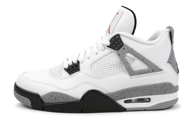 ASAP Rocky Got His Air Jordan IV 4 White Cements Splashy