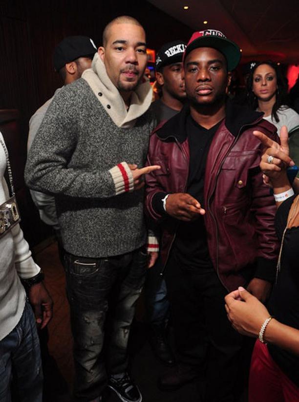 DJ Envy Wearing Polo Ralph Lauren Wool Shawl Collar