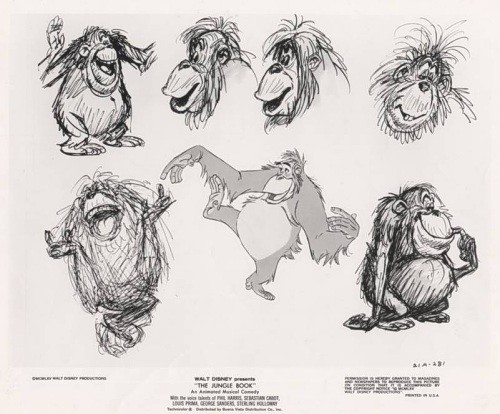 Original Jungle Book Sketches