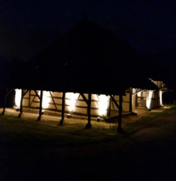 Musee des Maisons Comtoise nuit