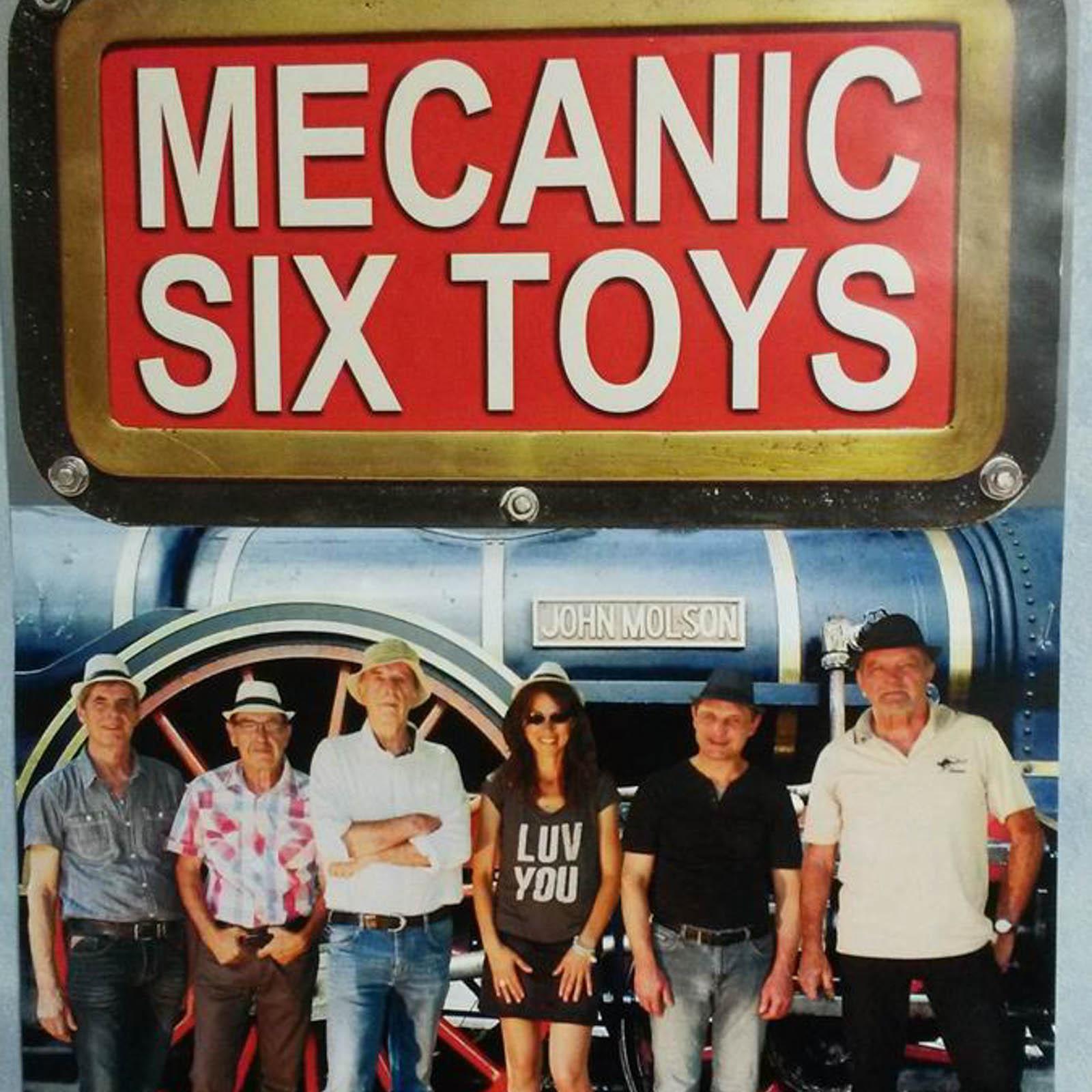 Mecanic Six Toys – Samedi 16h30