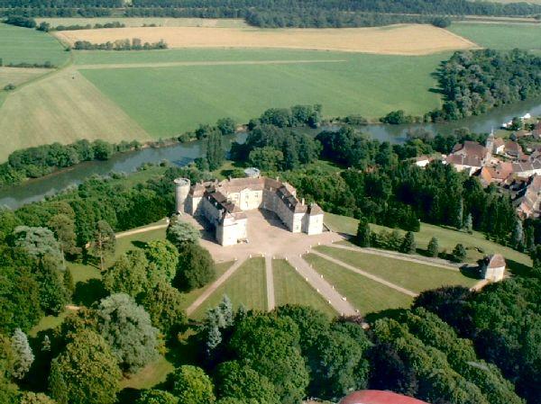 Le Chateau de Ray-sur-Saône, proche de Vesoul.