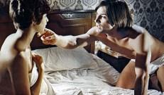 Pierro (Joe Dallesandro) mit seiner Geliebten ...