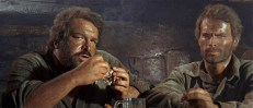 Hutch Bessy (Bud Spencer) und Cat Stevens (Terence Hill)