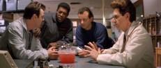Ray (Dan Aykroyd), Winston (Ernie Hudson), Peter (Bill Murray) und Egon (Harold Ramis)