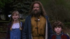 Judy Shepherd (Kirsten Dunst), Alan (Robin Williams), Peter (Bradley Pierce)