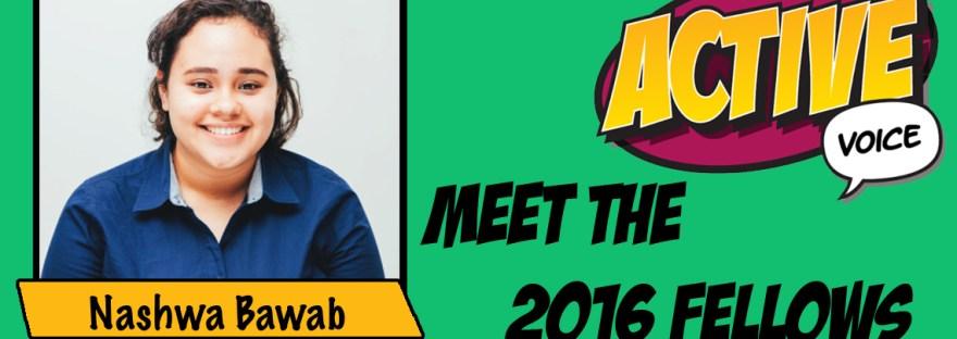2016 Active Voice Fellow Nashwa Bawab