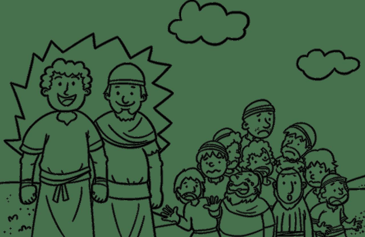 Caleb Following God Wholeheartedly